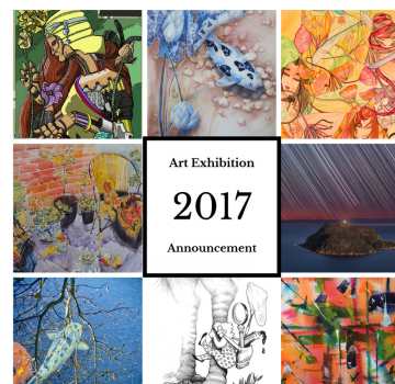 2017 Art Exhibition Announcement! copy