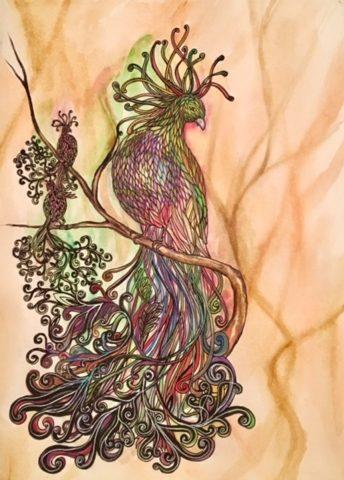 Triple The Peacock
