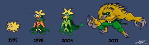 Evolution Baby!