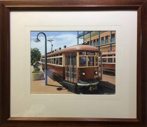 Last stop - Glenelg (Framed)