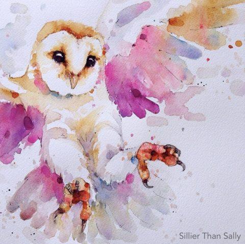 Twilight Owl (Framed)