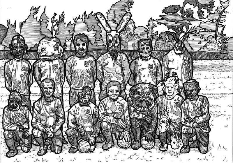 Croydon Wanderers Orginal Art