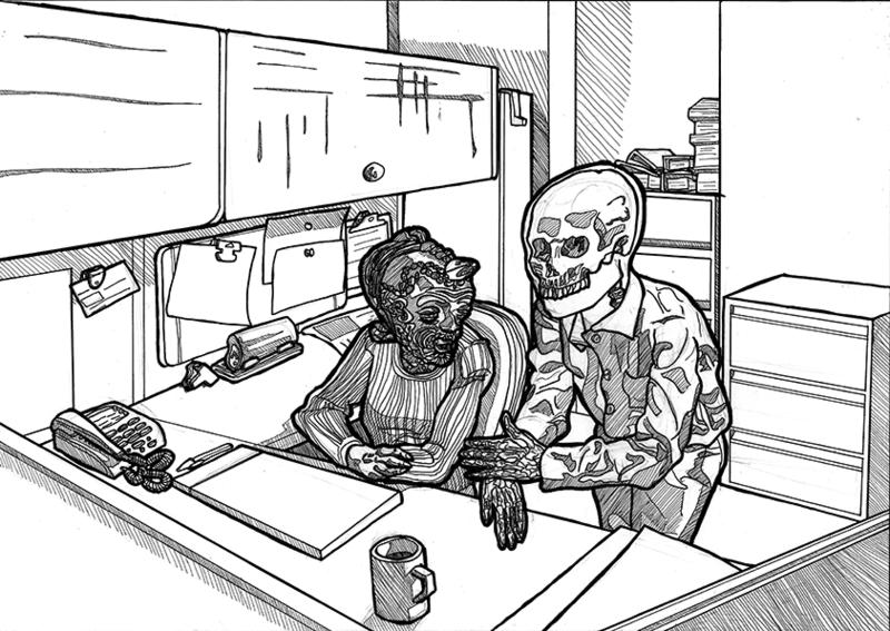 The Office Orginal Art