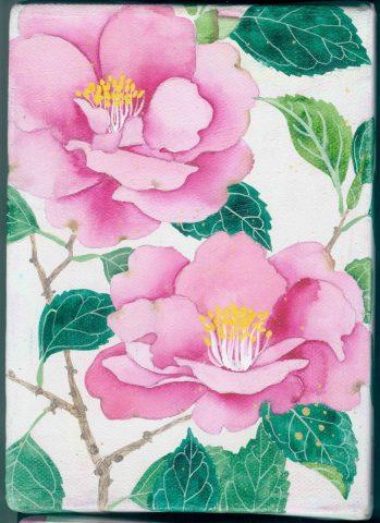 """Little garden # 1 """"Camelias"""