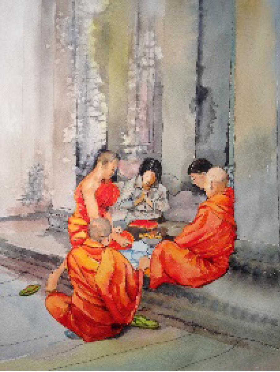 Meditation - CAMBODIA