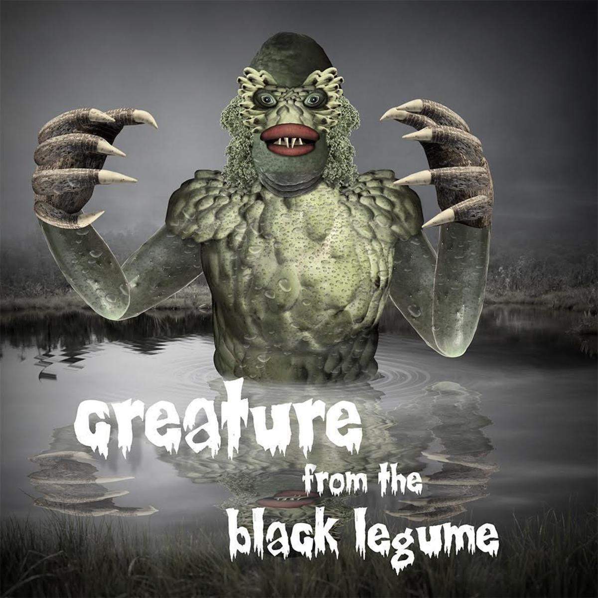 Creature from the black legume (Framed)