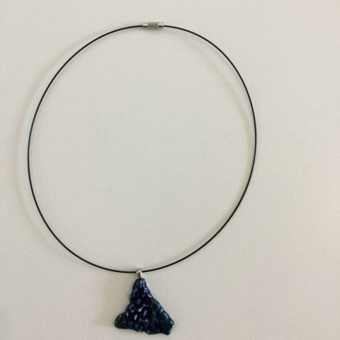 Blue Motif Necklace