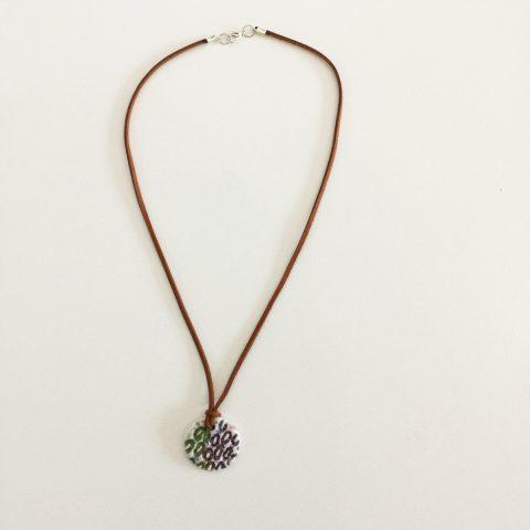 Porcelain Round Necklace
