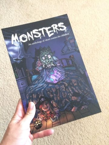 Monsters -An Anthology of short comics for children
