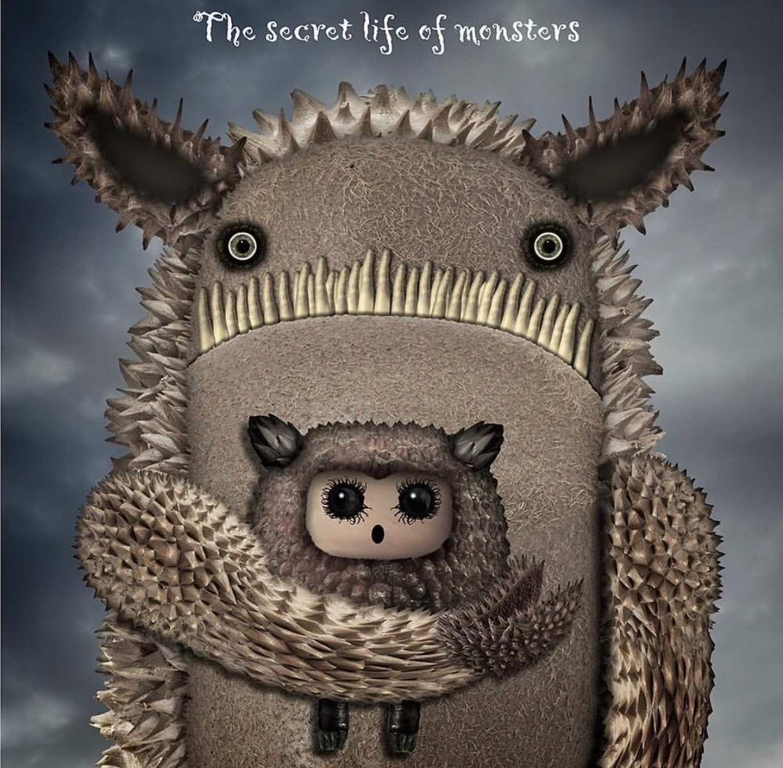 Monster of kindness (Framed)
