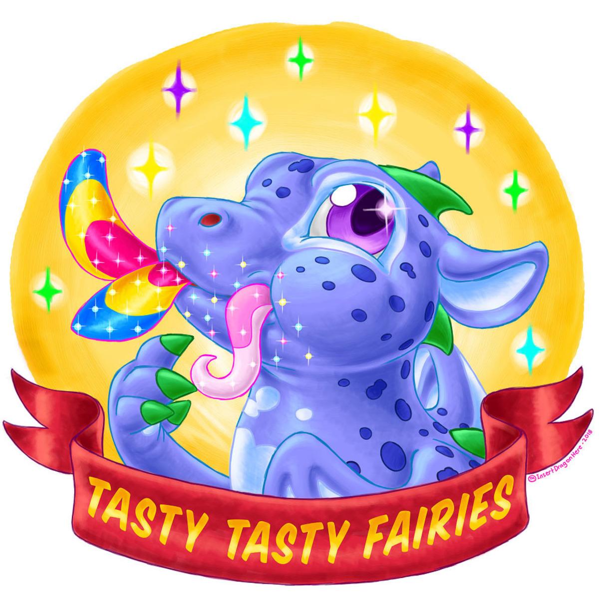 Tasty Tasty Fairies - Blueberry