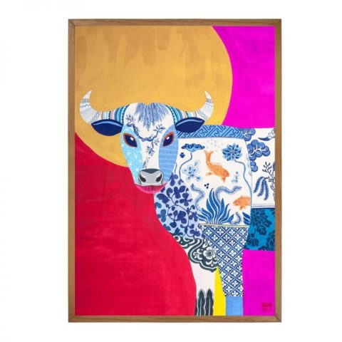 OX - Limited Edition Print of 25 (Framed)