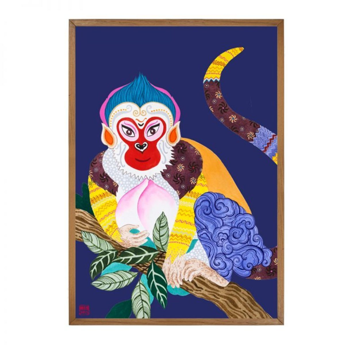 Monkey - Limited Edition Print of 25 (Framed)