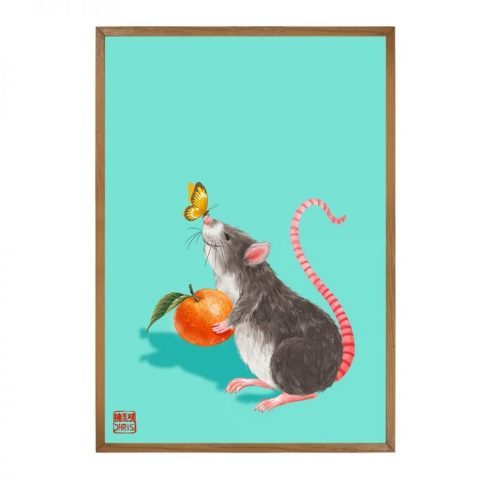 Lucky Orange - Open Edition (A4  Unframed)
