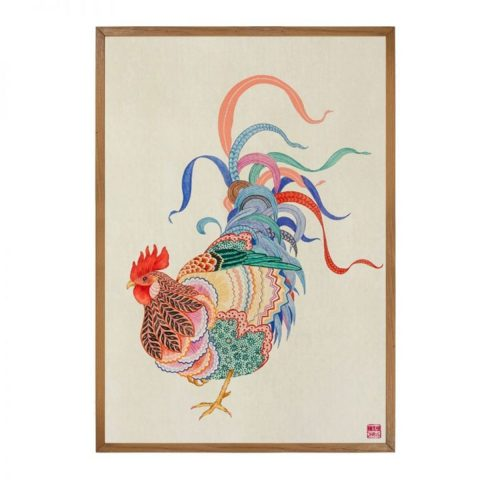 Rooster - Limited Edition Print of 25 (Framed)