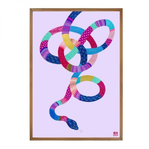 Snake - Limited Edition Print of 25 (Framed)