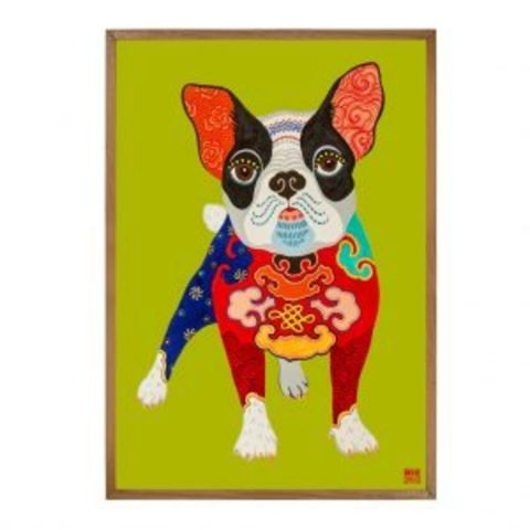 Dog - Limited Edition Print of 25 (Framed)