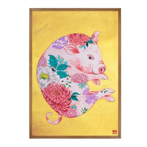 Pig - Limited Edition Print of 25 (Framed)