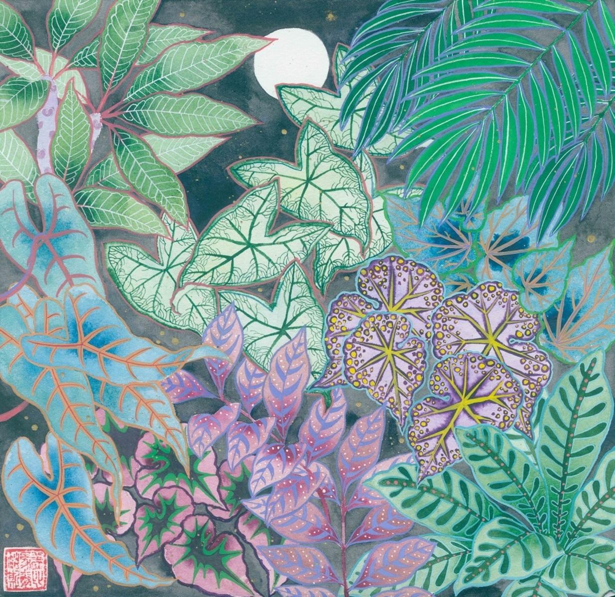 Night Jungle - Unframed