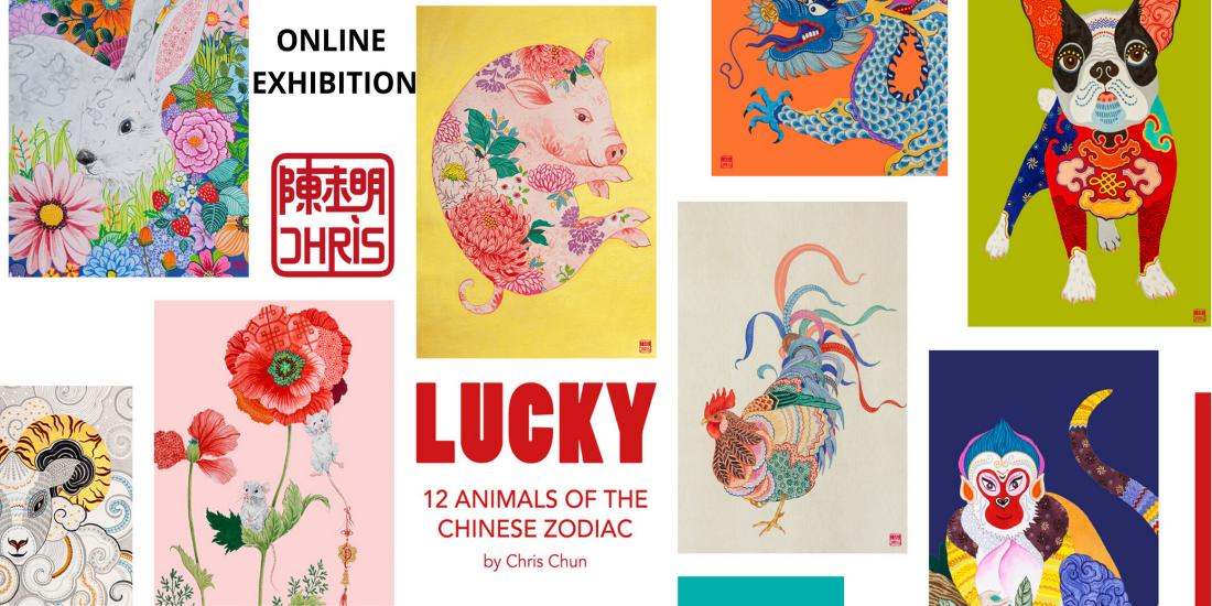 Web Slider_banner_online show_Lucky by Chris Chun