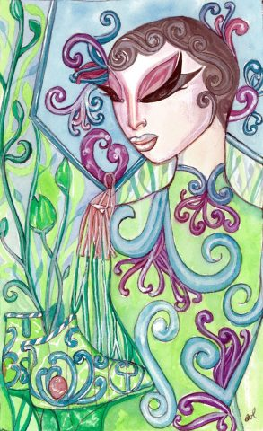 Festering with Lotus Green
