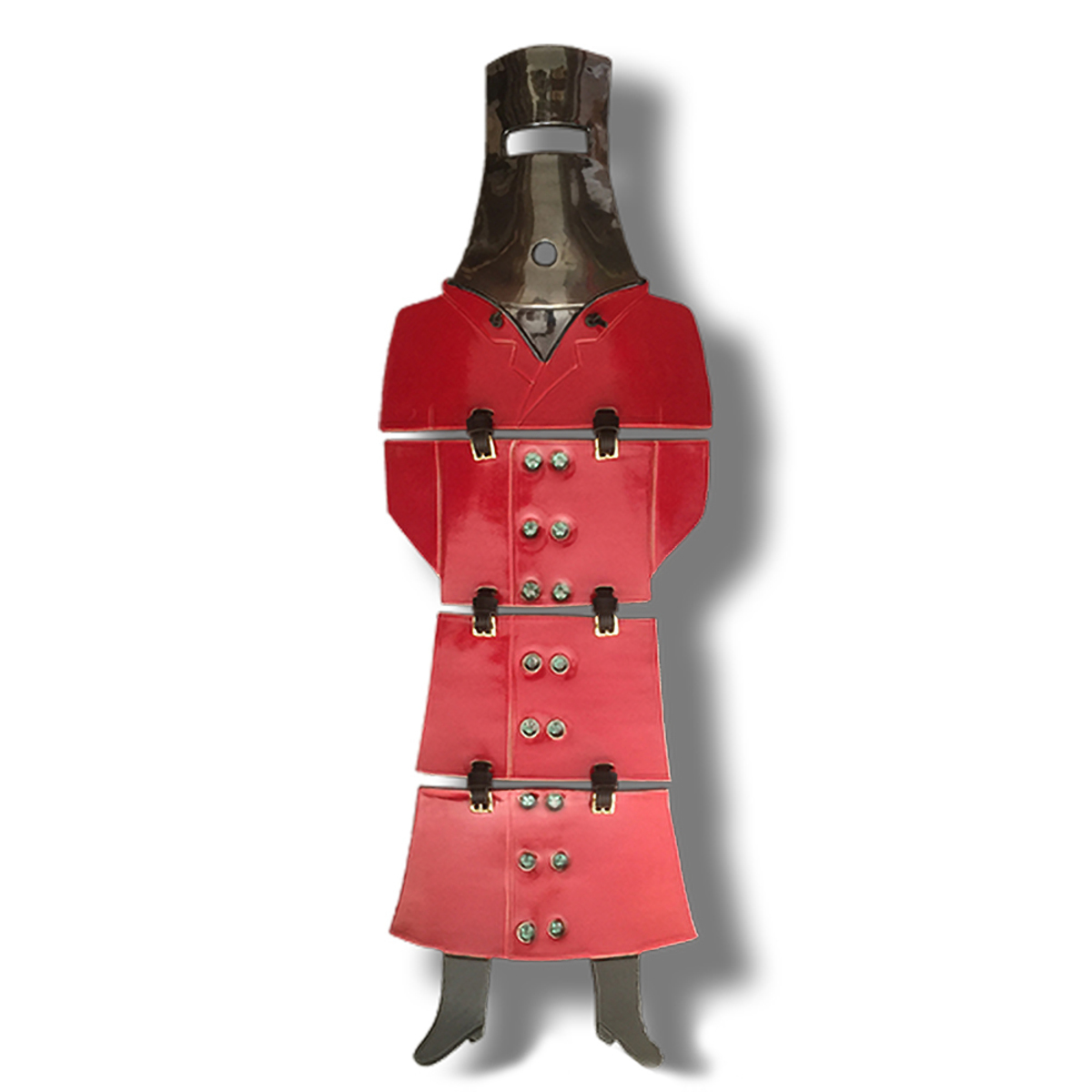 Ned Kelly – Large Limited Series (150), Red Glaze