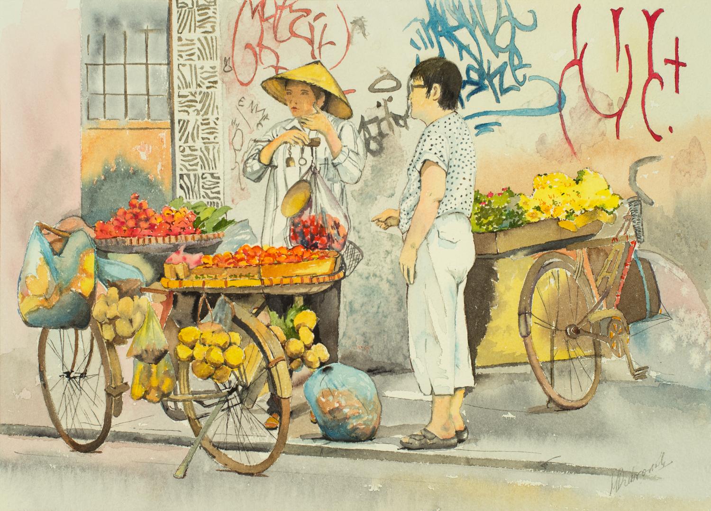Fruit Seller - Hanoi